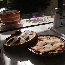 Apple, Cranberry, Currant Pie W/ Lemon-Nutmeg Crust