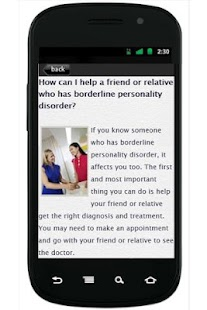 BorderlinePersonality Disorder - screenshot