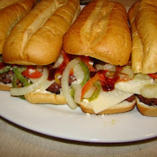 Cubed Steak Hoagies