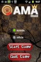 Screenshot of Dama Droid
