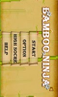 Screenshot of Bamboo Ninja