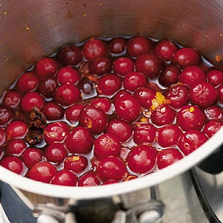 Cranberry Sauce With Port & Star Anise