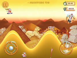 Screenshot of Snowboard Racing Free Fun Game