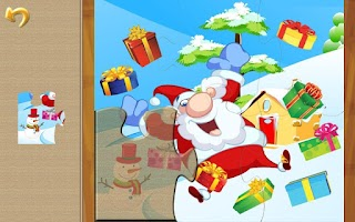 Screenshot of Christmas Puzzle: Santa & Pals