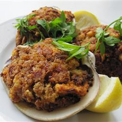 Chorizo Stuffed Clams