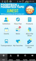 Screenshot of Foodtech & Phamartech Taipei
