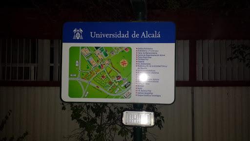 Mapa Uni Alcalá