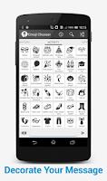 Screenshot of Emoji Chooser(EmoticonInput)