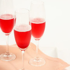 Red Currant Champagne Cocktail