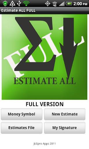 A Estimate All FULL