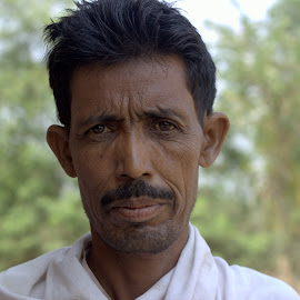 Kushwaha by Mrinal Mohanti - People Portraits of Men