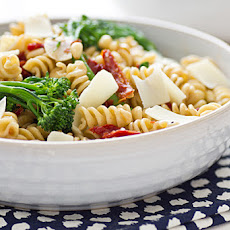 Whole Wheat Rotini with Broccolini and Sun-Dried Tomatoes