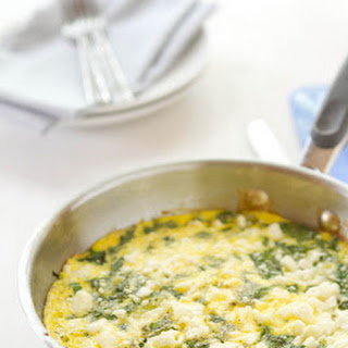 Swiss Chard and Feta Frittata