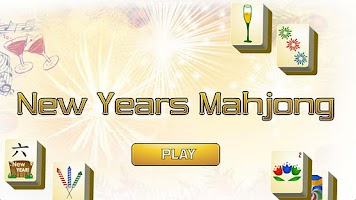 Screenshot of New Years Mahjong