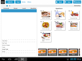 Screenshot of POS Cibo