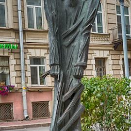 Sculpture in the city by Vlad Meytin - Buildings & Architecture Statues & Monuments ( sculpture, russia, vladsm, www.flickr.com/photos/vmwelt, vlad meytin, k.h. imporium co., pictures, st. petersburg, art pictures, meytin, photography, vladsm.com )