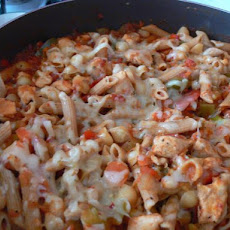 Buffalo Chicken Chili Mac for Olympians - Rachael Ray