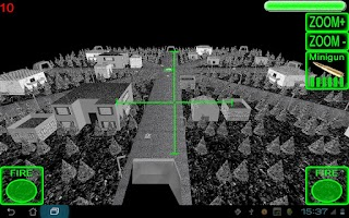 Screenshot of 3D AC130 City Defender