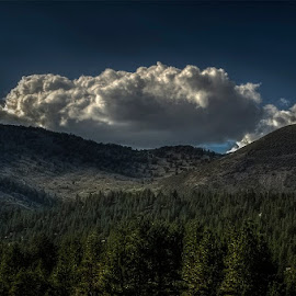 Summer Clouds at Mt. Rose by Sam Okamoto - Landscapes Cloud Formations
