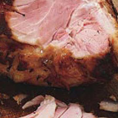 Baked Ham with Plum-and-Thyme Glaze