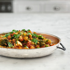 Veggie Curry With Cardamom Yogurt