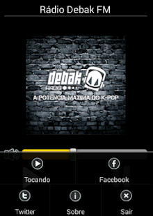 Rádio Debak FM - screenshot