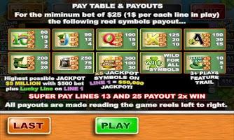 Screenshot of Irish Treasure Slots