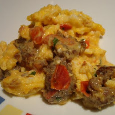 Tex Mex Scrambled Eggs