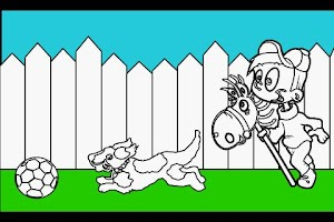 Screenshot of Kids Coloring Book Game FREE