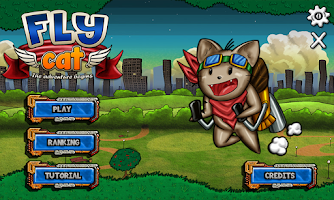 Screenshot of Fly Cat