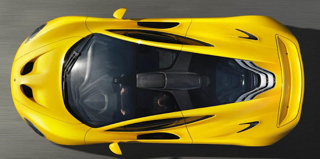 McLaren P1 above