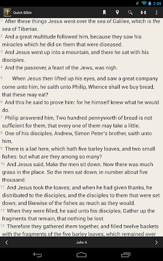 quick-bible for android screenshot