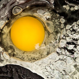 Egg Yolk by Paulino J.  - Food & Drink Cooking & Baking