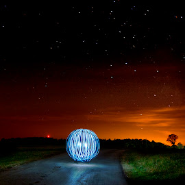 The Spheres by Kyle Doratt - Abstract Light Painting