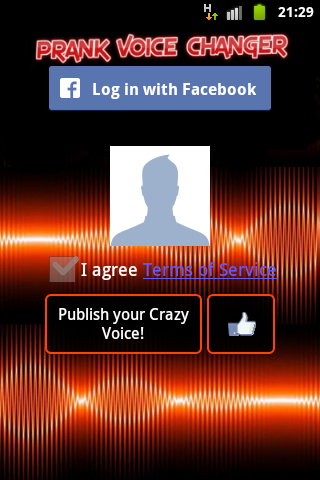 Voice Changer (Prank) PRO Screenshot 5