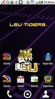 Screenshot of LSU Tigers Live Wallpaper HD