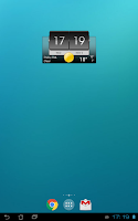 Screenshot of 3D Flip Clock & World Weather