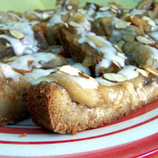 Mazurek Topped With Apple