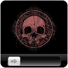 Rock SKull HD GO Locker icon