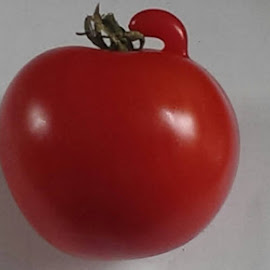 Tomato with a penis by Paul Guzewicz - Food & Drink Fruits & Vegetables