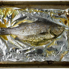 Roasted Fish with Thai Pesto Recipe