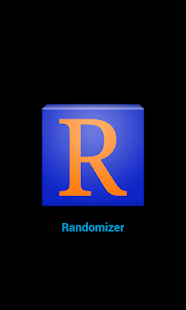 Randomizer - screenshot