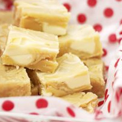 White Chocolate Chip Fudge