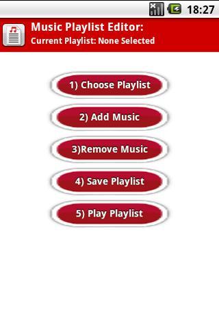 Music Playlist Editor - ME