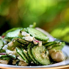 Cucumber Salad with Mint and Feta