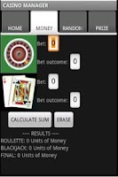 Screenshot of CASINO MANAGER