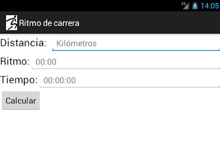 Ritmo de carrera - screenshot