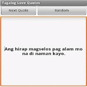 Tagalog Love Quotes APK for Bluestacks