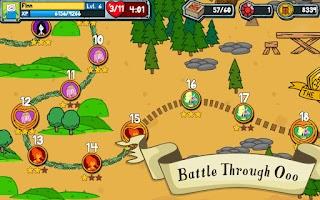 Screenshot of Card Wars - Adventure Time