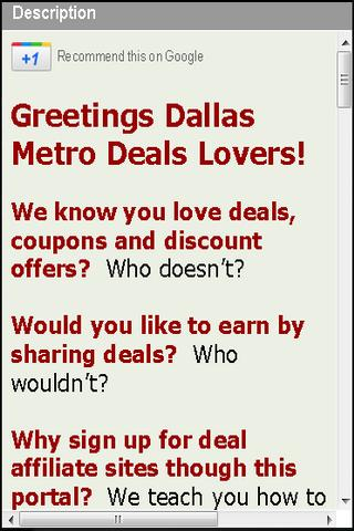 Deals Dallas Earn Rewards Cash